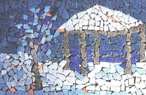 """Glass Gazebo"" - First Mosaic - Age 10"
