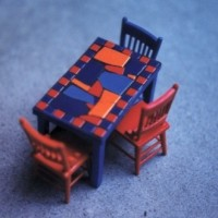 Dollhouse Table 1