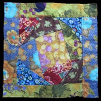Quilt Square 1 | Cotton | 4 x 4""