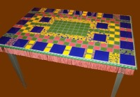 First Mosaic Table made in 1998