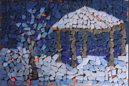 Gazebo Mosaic at Age 10
