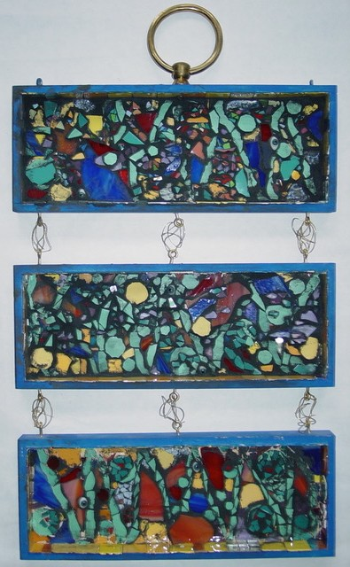 Triptych in Private Collection